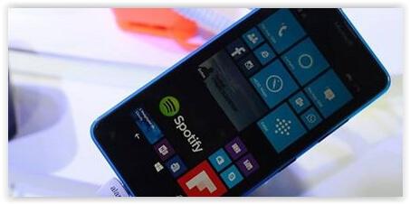 Configurações de Internet para o Lumia 640.