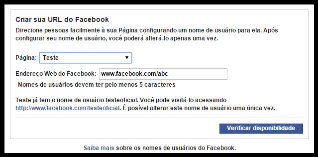 url facebook pagina