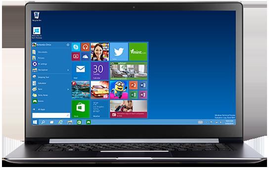 Requisitos para rodar o Windows Technical Preview