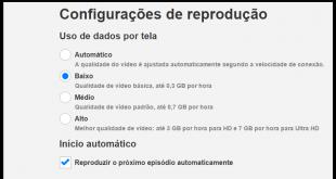 Como mudar a qualidade de vídeo do Netflix na TV Panasonic Viera