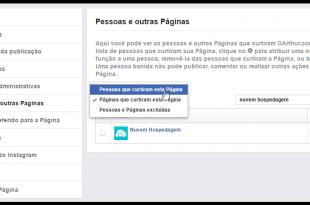 Buscar por nome das pessoas que curtiram sua página no Facebook