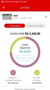 Como aumentar o limite do Santander Free