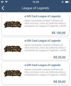 Digio Store: Como comprar um e-gift Card League of Legends