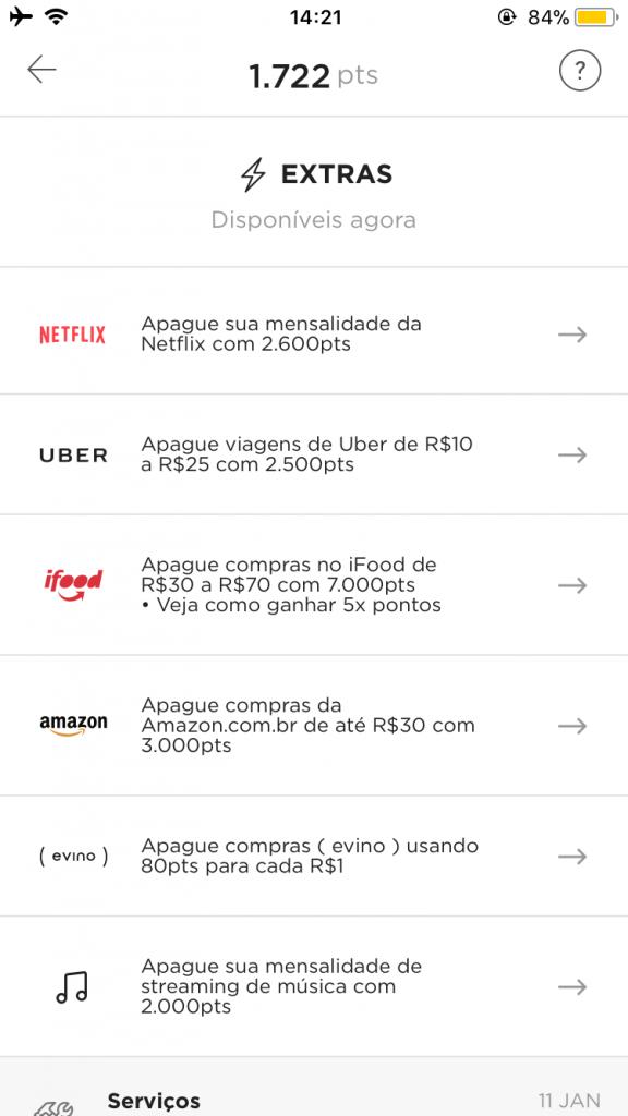 Nubank Rewards: Como apagar uma mensalidade da Netflix