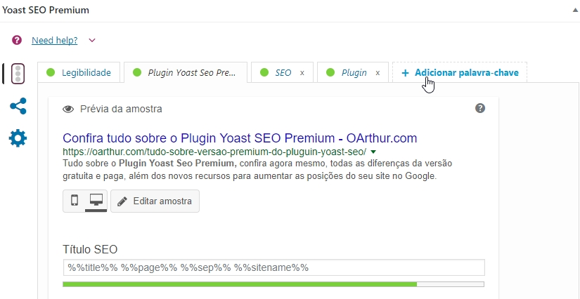 Confira tudo sobre o Plugin Yoast SEO Premium