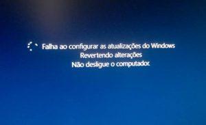 [Resolvido] Falha ao configurar as atualizações do Windows. Revertendo alterações.