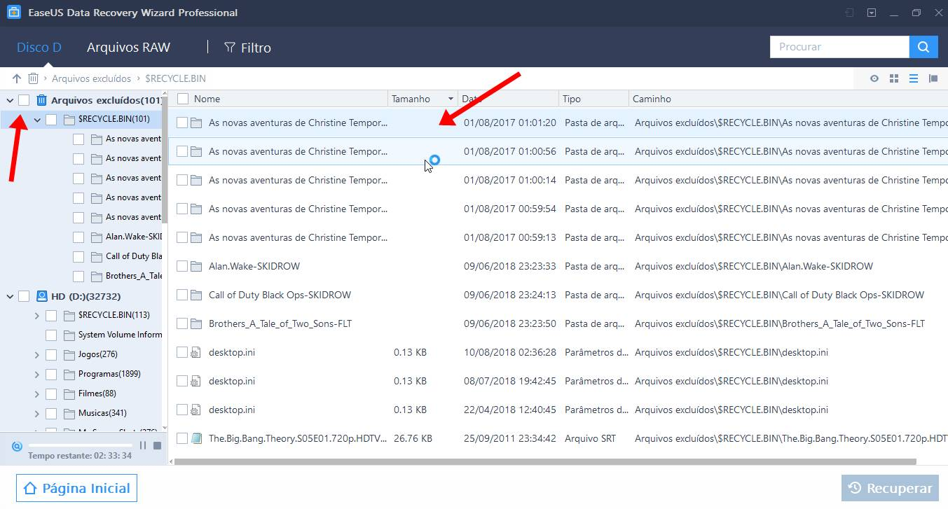 Veja como recuperar todos os seus arquivos apagados acidentalmente