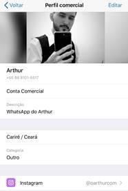 Configurando o Whatsapp business no iPhone
