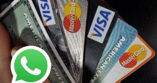 Golpe no WhatsApp: Seja aprovado em qualquer cartão de crédito.
