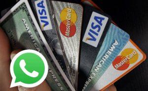 whatsapp cartão de crédito golpe