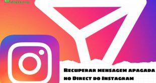 Como recuperar uma conversa no direct do Instagram apagado?