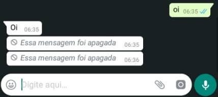 como recuperar mensagem apagada do whatsapp