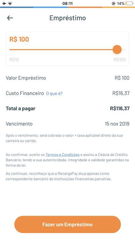 Empréstimo Recarga Pay: saiba como fazer o seu !