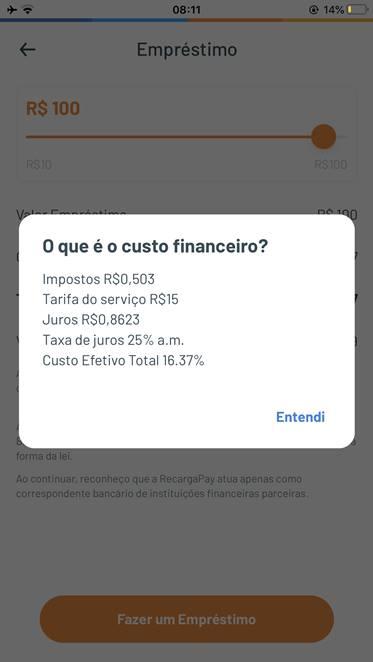 Empréstimo Recarga Pay