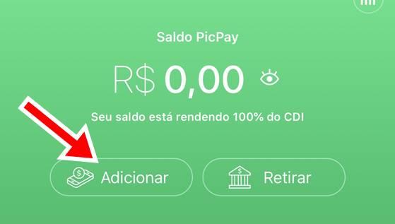 depositar dinheiro no picpay