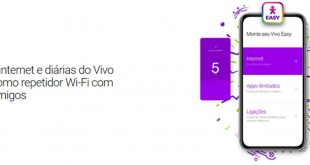 Compartilhar internet e diárias do Vivo Easy como repetidor WiFi
