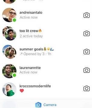 Como ver as pessoas que estão online no Instagram