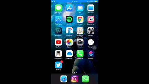 espelhar a tela do iPhone na mi box s