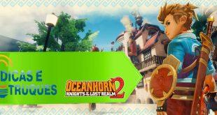 Dicas e truques para o jogo Oceanhorn 2