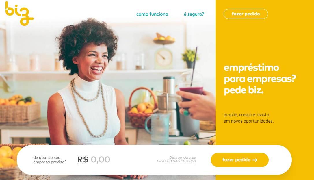 fazer um empréstimo online