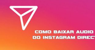 Como salvar audio do instagram Direct (Celular ou PC)