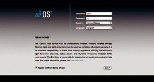 AirOS senha: qual é o padrão do roteador [em 2 etapas]