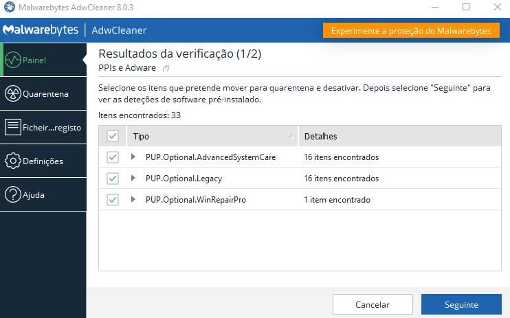 Adwcleaner download da ferramenta de limpeza de adware [De graça 2020]