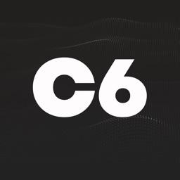logotipo do c6 bank