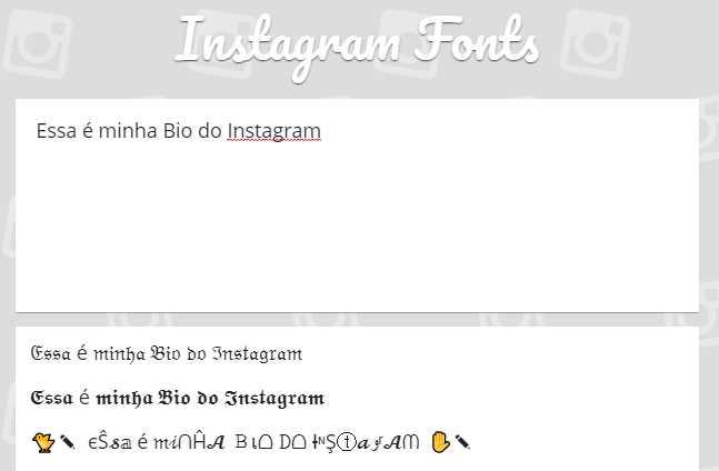 Fontes para Instagram: as 50 melhores para copiar e colar