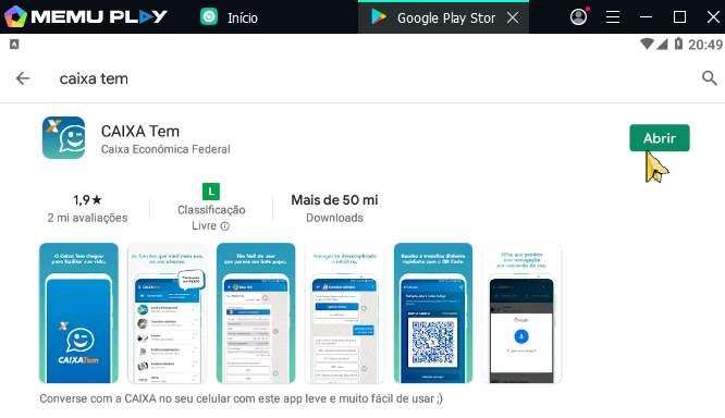Não é permitido acesso ao aplicativo Caixa Tem com o sistema modificado