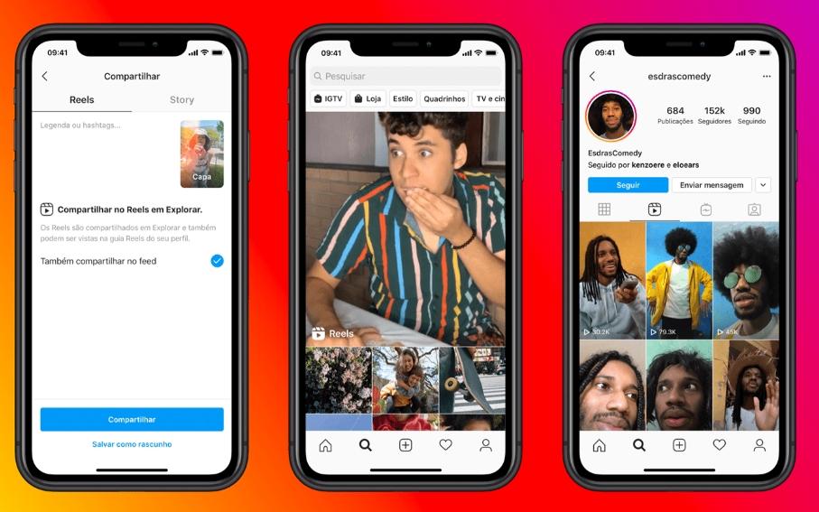 Como baixar os vídeos do Instagram Reels no celular