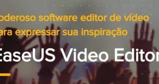 Software de edição de vídeo no PC da EaseUs