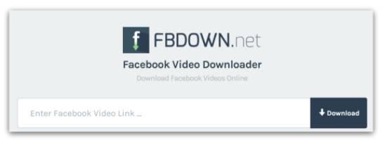 baixar vídeos do Facebook