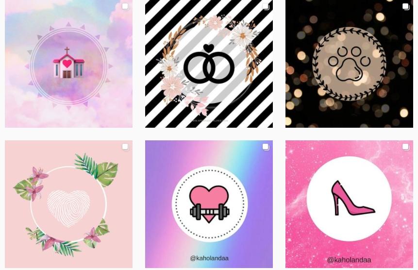 Como criar ou baixar capas para destaque do Instagram